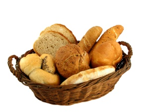 bread in a basket