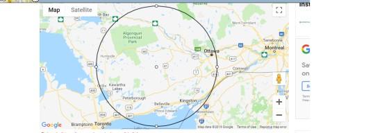 100 mile map